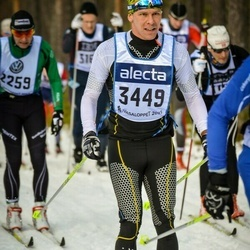 Skiing 90 km - Henrik Andersson (3449)