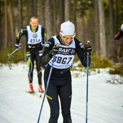 Skiing 90 km - David Martinsson (3867)