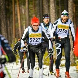 Skiing 90 km - Christian Elsebutangen (3232), Tom Degn Fröshaug (3727)