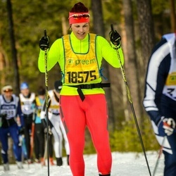 Skiing 90 km - Åse Borgeryd (18575)