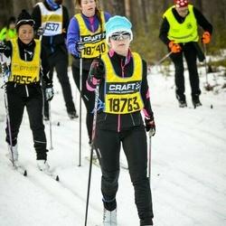 Skiing 90 km - Zandra Norman (18763)