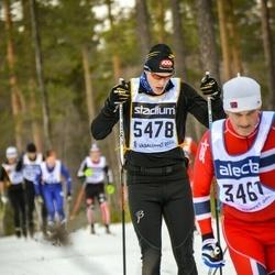 Skiing 90 km - Daniel Berglund (5478)