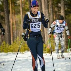 Skiing 90 km - Fredrik Lundgren (6215)