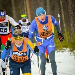Skiing 90 km - Lars-Erik Lindborg (30301)