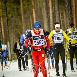 Skiing 90 km - Vemund Handeland (5550)