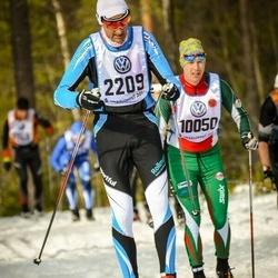 Skiing 90 km - Antonio Massimo Musetti (2209)