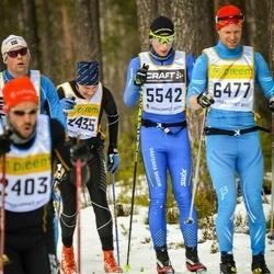 Skiing 90 km - Didrik Eriksson (5542), Jonas Nyqvist (6477)