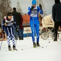 Skiing 90 km - Mattias Gustavsson (7546), Daniel Wolbe (9430)