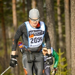 Skiing 90 km - Björn Lystedt (2098)