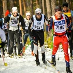 Skiing 90 km - Carlo Fazzini (3527), Niklas Brate (7180)