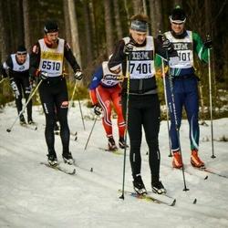 Skiing 90 km - Emil Ljungdahl (7401)