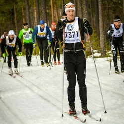 Skiing 90 km - Alfred Emanuelsson (7371)