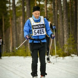 Skiing 90 km - Carl Håkon Svenning (5403)
