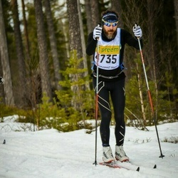 Skiing 90 km - Tomas Amneskog (4735)