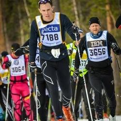 Skiing 90 km - Andreas Glansborg (7188)
