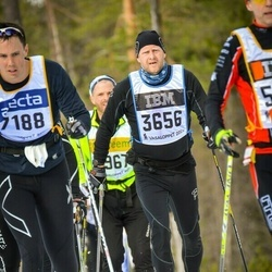 Skiing 90 km - Knut Pedersen (3656)