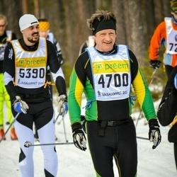 Skiing 90 km - Christian Friman (4700)