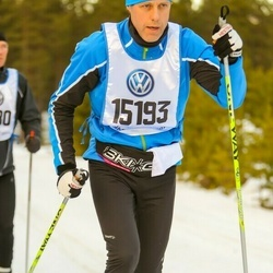 Skiing 90 km - Christian Bäkgaard (15193)