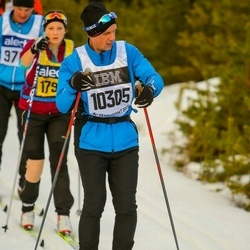 Skiing 90 km - Dennis Keyson (10305)