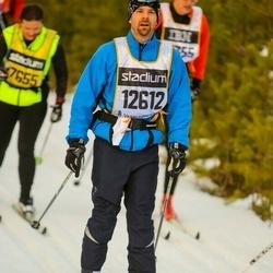 Skiing 90 km - Henrik Lindberg (12612)