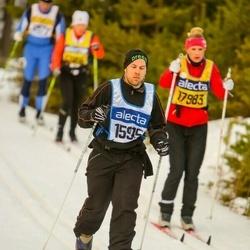 Skiing 90 km - David Rabenius (15915)