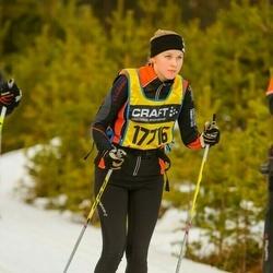 Skiing 90 km - Ellinor Vejlens (17716)