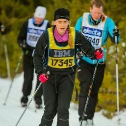 Skiing 90 km - Emelie Lerge (17349)