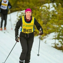 Skiing 90 km - Alexandra Lanthén (18419)