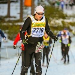Skiing 90 km - Bjørn Lunde (7718)