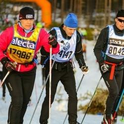 Skiing 90 km - Johan Westman (14147), Agneta Andersson (17986)