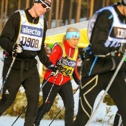 Skiing 90 km - Erik Westergård (11908), Annelie Jonsson (19242)