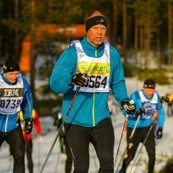 Skiing 90 km - Janne Wallertz (10564)