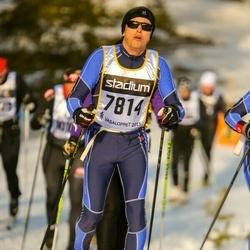 Skiing 90 km - Anders Bergbom (7814)