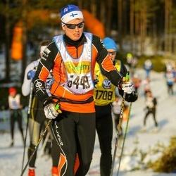 Skiing 90 km - Anders Holmäng (15449)
