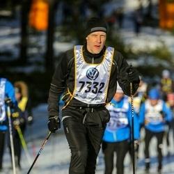 Skiing 90 km - Henrik Larsen (7332)
