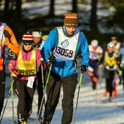 Skiing 90 km - Emanuel Larsson (13059)