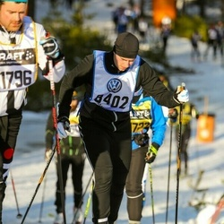 Skiing 90 km - Adam Wahlsten (8402)