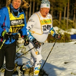 Skiing 90 km - Roger Lannerblad (12419), Agnetha Le Claire (17722)