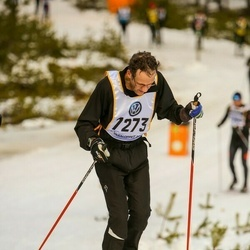 Skiing 90 km - Åke Bromö (7273)