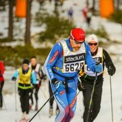 Skiing 90 km - Fredrik Westerdahl (6628)