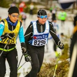 Skiing 90 km - Henrik Sandberg (8296)