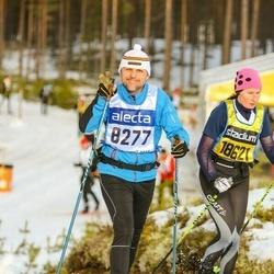 Skiing 90 km - Ulric Svensson (8277), Christina Klingestål (18621)