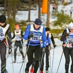Skiing 90 km - Anders Sundén (11901)