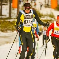 Skiing 90 km - Anders Mellergård (8743)