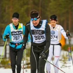 Skiing 90 km - Carl-Johan Magnusson (9015)
