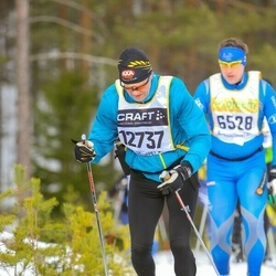 Skiing 90 km - Henrik Larsson (12737)