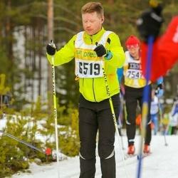 Skiing 90 km - Fredrik Tyrberg (6519)