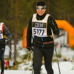 Skiing 90 km - Anders Flodin (5177)