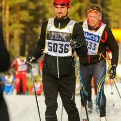 Skiing 90 km - Henrik Forsberg (5036)