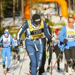 Skiing 90 km - Britt Heskestad (19089)